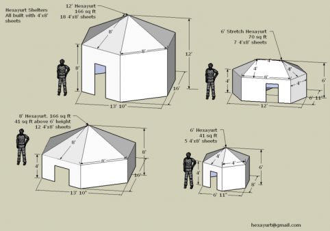 Diy your burn shelter shade cool cool comfort burning man journal vinay guptas hexayurt is now being tested as disaster relief and refugee shelter why because it works this is far and away the best shelter idea ive solutioingenieria Image collections