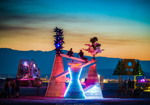 Burning Man Art Preview: Victoria CoRECompleted